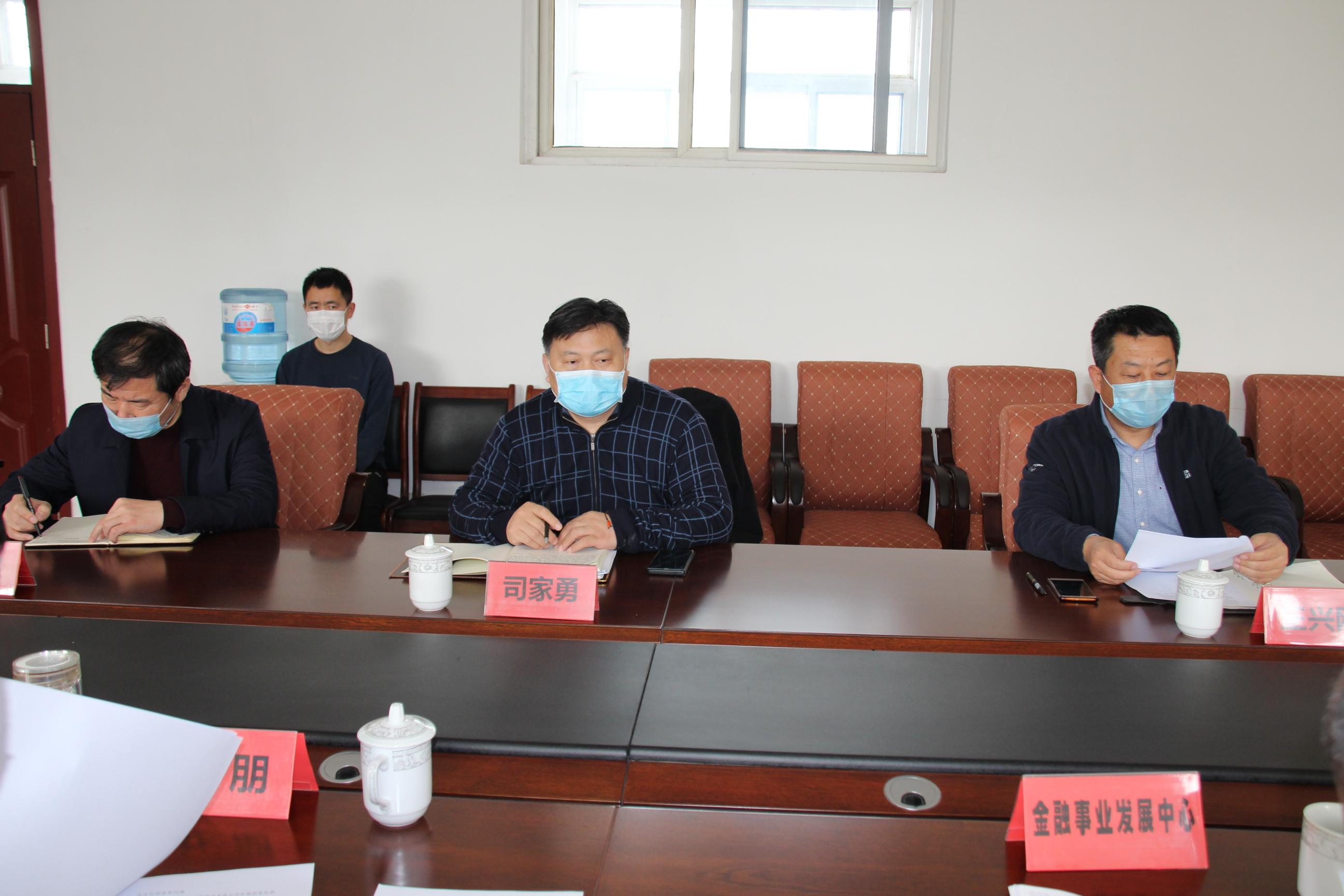 马广朋县长对接帮扶企业东阿国胶堂,解决实际问题插图(2)
