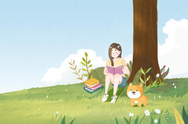 摄图网_400111879_树下看书的女孩(企业商用).jpg