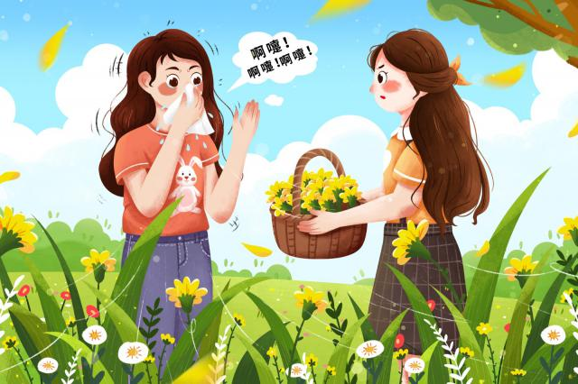 摄图网_401765725_过敏性疾病花粉过敏女孩(企业商用).jpg