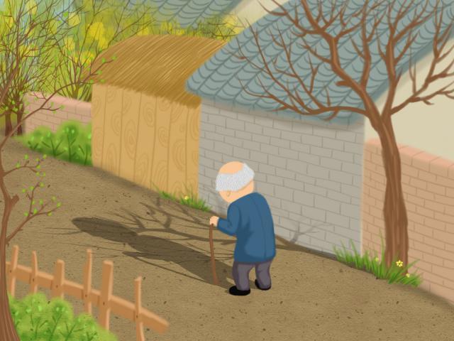 摄图网_400153555_孤独的老人(非企业商用).jpg