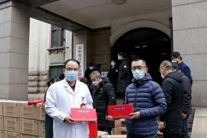福胶集团再向山东一线医护工作者捐赠补血口服液