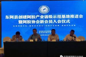 政协企齐发力 创省级示范县 推进阿胶产业高质量发展