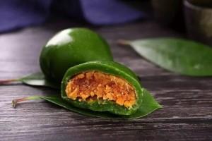 低卡低糖阿胶青团——清明节千万不可错过的美食!