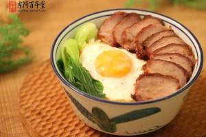 阿胶荷包蛋饭和陈霸先