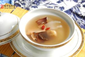 阿胶鹿茸炖水鱼与兰陵王高长恭
