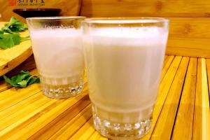 阿胶花生核桃奶与宋美龄