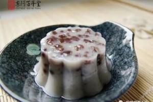 元曲中杨贵妃蒙恩宠的驻颜佳品——阿胶红豆糕