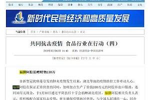 """福牌阿胶战""""疫""""担当 引起多家主流媒体报道"""