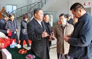 菏泽市重点项目观摩团到协会副会长单位——鲁润阿胶参观考察