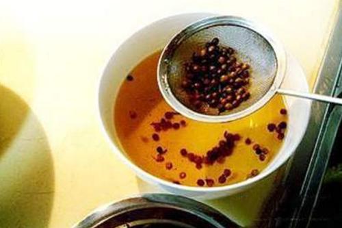 喝花椒水的功效与作用